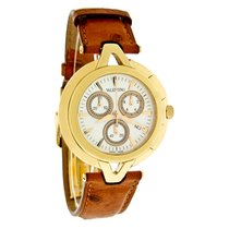 Valentino V-Valentino Mens GoldTone Swiss Chrono Watch...