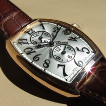 Franck Muller MASTER BANKER 18K ROSE GOLD WATCH