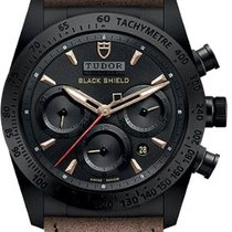 Tudor 42000CN-AL Fastrider Black Shield in Black Ceramic - On...