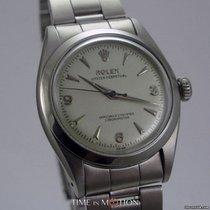 Rolex Oyster Perpetual Modèle 6580 Cal 1030 Explorer Dial Argenté