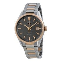 TAG Heuer Carrera Calibre 5 Anthracite Dial Stainless Steel...