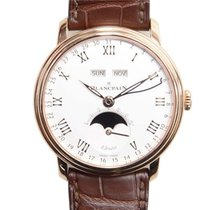 Blancpain Villeret Complete Calendar 8 Days Men's Watch