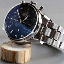 TAG Heuer Carrera Heritage Chronograph Calibre 16 B&P