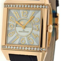 Jaeger-LeCoultre 18K Rose Gold Diamond Reverso Squadra Ladies...