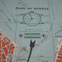 Vacheron Constantin map of the geneva city advertising...