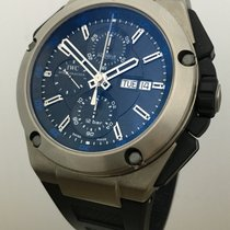 IWC Ingenieur Double Chronograph 45mm Titanium Mens Watch