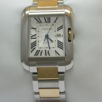 Cartier W5310006 Tank Anglais Large Model Rose Gold & Steel