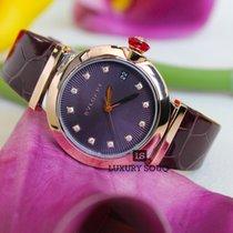 Bulgari BVLGARI LVCEA 36MM 18K Pink Gold Bezel, Violet Dial