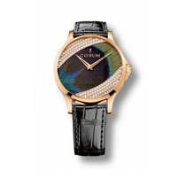 Corum Artisans Feather Watch Diamonds