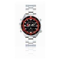 Chris Benz Uhr Taucheruhr Depthmeter CB-D200-R-MB