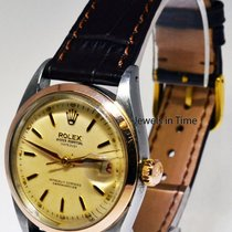 Rolex Vintage Datejust 14k Rose Gold & Steel Automatic...