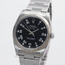 Rolex Air King 114234 Steel Black Diamond Dial