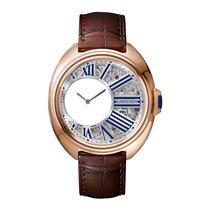 Cartier Cle Quartz Mens Watch Ref WHCL0002