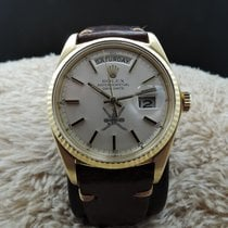 劳力士  (Rolex) DAY-DATE 1803 18K Gold with Original Silver Oman...