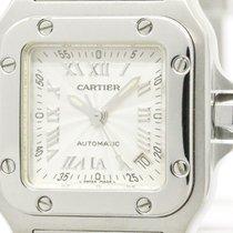 Cartier Polished Cartier Santos Galbee Steel Automatic Ladies...