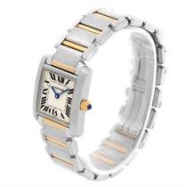 Cartier Tank Francaise Small Steel Yellow Gold Quartz Watch...