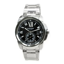 Cartier Calibre De Cartier Stainless Steel Black Automatic...