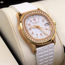Patek Philippe Aquanaut Luce 5068r 18k Rose Gold Diamond Bezel...
