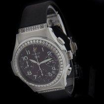 Hublot Steel Elegant Chronograph Diamond Watch 1810.744.1.054