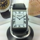 Raymond Weil 5768-ST-00300 Tradition Black Leather Strap watch...