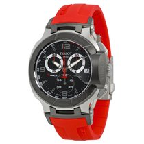 Tissot Men's T0484172705701 T-Race Chronograph  Watch