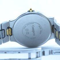 Longines Conquest Damen Uhr Quartz  Top Zustand 34mm Stahl/gold