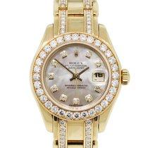 Rolex 80298 Diamond Masterpiece Ladies Watch
