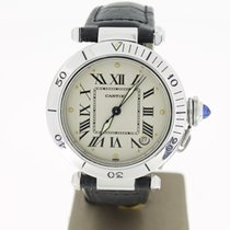 Cartier Pasha Steel Date Roman Dial (Papers2010) 35mm