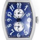 Franck Muller Master Banker 3 Time Zone Men's Steel Watch...