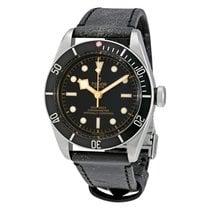 Tudor Heritage Black Bay Leather Automatic Men's Watch