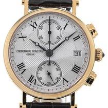 Frederique Constant Classics Chronograph 34 Guilloche Dial PVD