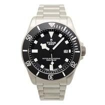 Tudor New  Pelagos Steel Black Dial Automatic Mens Watch 25500TN