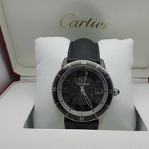 Cartier CARTİER RONDE CROİSİERE 42 MM AUTOMATİC STEEL LEADER BAND