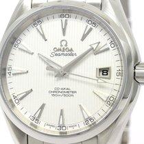 オメガ (Omega) Polished Omega Seamaster Aqua Terra Co-axial Watch...