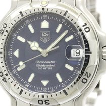 TAG Heuer Polished Tag Heuer 6000 Chronometer Steel Automatic...