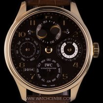 IWC 18k R/G Power Res Portuguese Perpetual Cal B&P IW502119