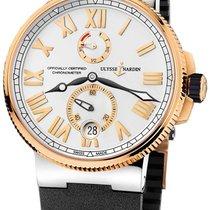 Ulysse Nardin 1185-122-3t/41 Marine Chronometer in Steel and...