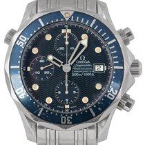 Omega Seamaster Chronograph Blue Dial, Ref: 2225.80.00