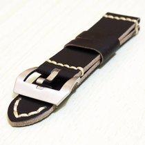 沛納海 (Panerai) New 24mm Calfskin Leather Strap Replacement Band...