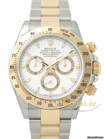 Rolex Cosmograph Daytona 116523 white