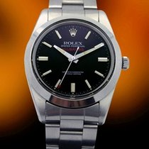 Rolex, Milgauss STAINLESS STEEL BLACK DIAL