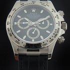 Rolex White Gold Daytona Strap Watch 116519