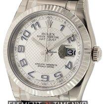 Rolex Datejust 18k White Gold 36mm Silver Dial Ref. 116139