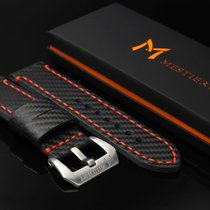 Mestiery 24mm Carbon Fiber Watch Strap for Panerai