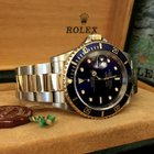 Rolex Oyster Perpetual Submariner Gold Steel 40 mm (Full Set...