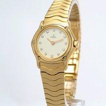 "Ebel ""Classic Lady"" 08/1997 - 18K/750 GG - Diamantbesa..."