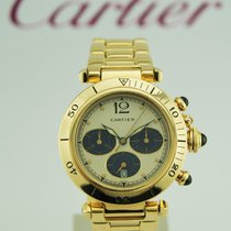 Cartier PASHA GOLD CHRONOGRAPH