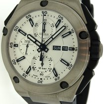 IWC Ingenieur Double Chronograph Automatic Watch IW386501