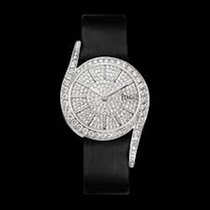 Piaget [NEW] Limelight Gala Diamond Dial Black Satin Strap