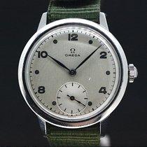 Omega Militär White Dial Super Zustand Handaufzug aus 1953